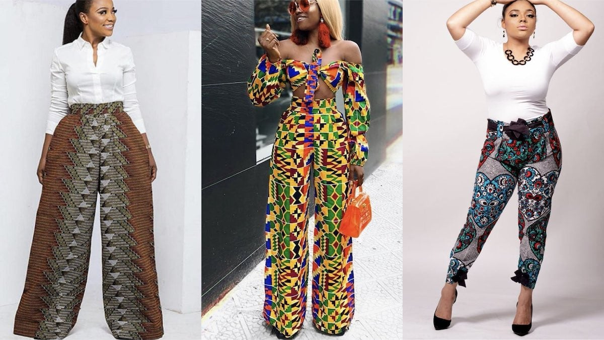Everything you need to know about ankara trousers and where to find the most-wanted African print pants for women this year