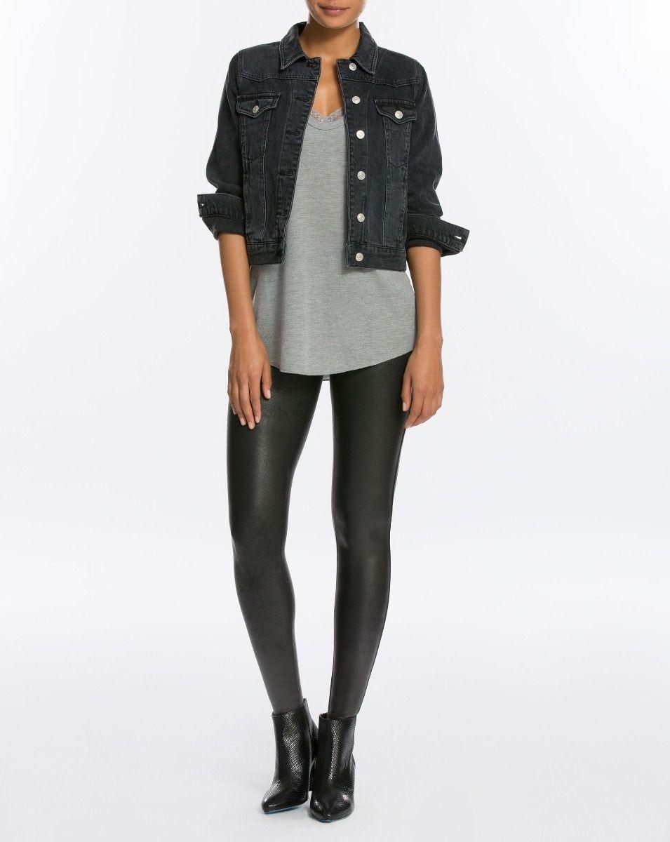 Best selling faux leather leggings
