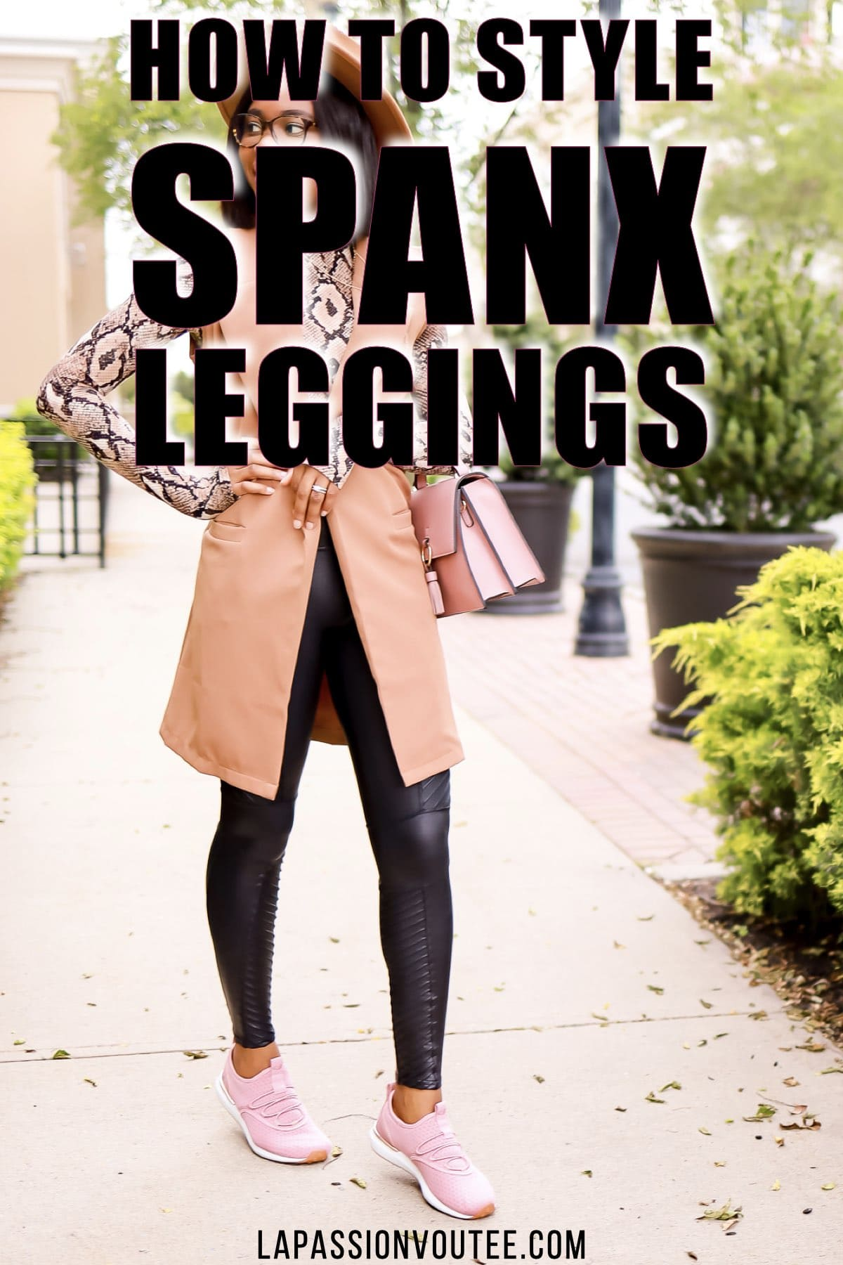 How to Style Spanx Faux Leather Leggings