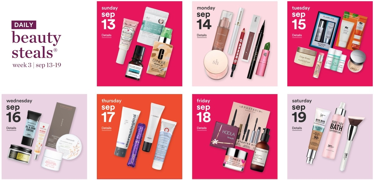 One of beauty's most-anticipated semi-annual sale is back this year with the Ulta 21 Days of Beaty Fall 2020 sale. Now through September 19th, you can save up to 50% on beauty essentials and cult-favorites like Anastasia Brow Wiz, Maria Badescu Peptide Serums, Strivectin face cream and more during the 24-hour flash sale.