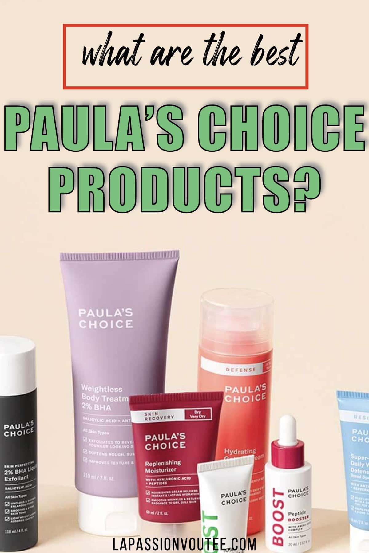 Looking for the best Paula's Choice products? After trying a variety of products from this skincare brand, I recommend trying any one (or all) of these Paula's Choice skincare products.