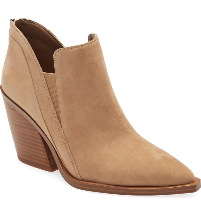 Look super fab rocking these Vince Camuto booties on sale at Nordstrom