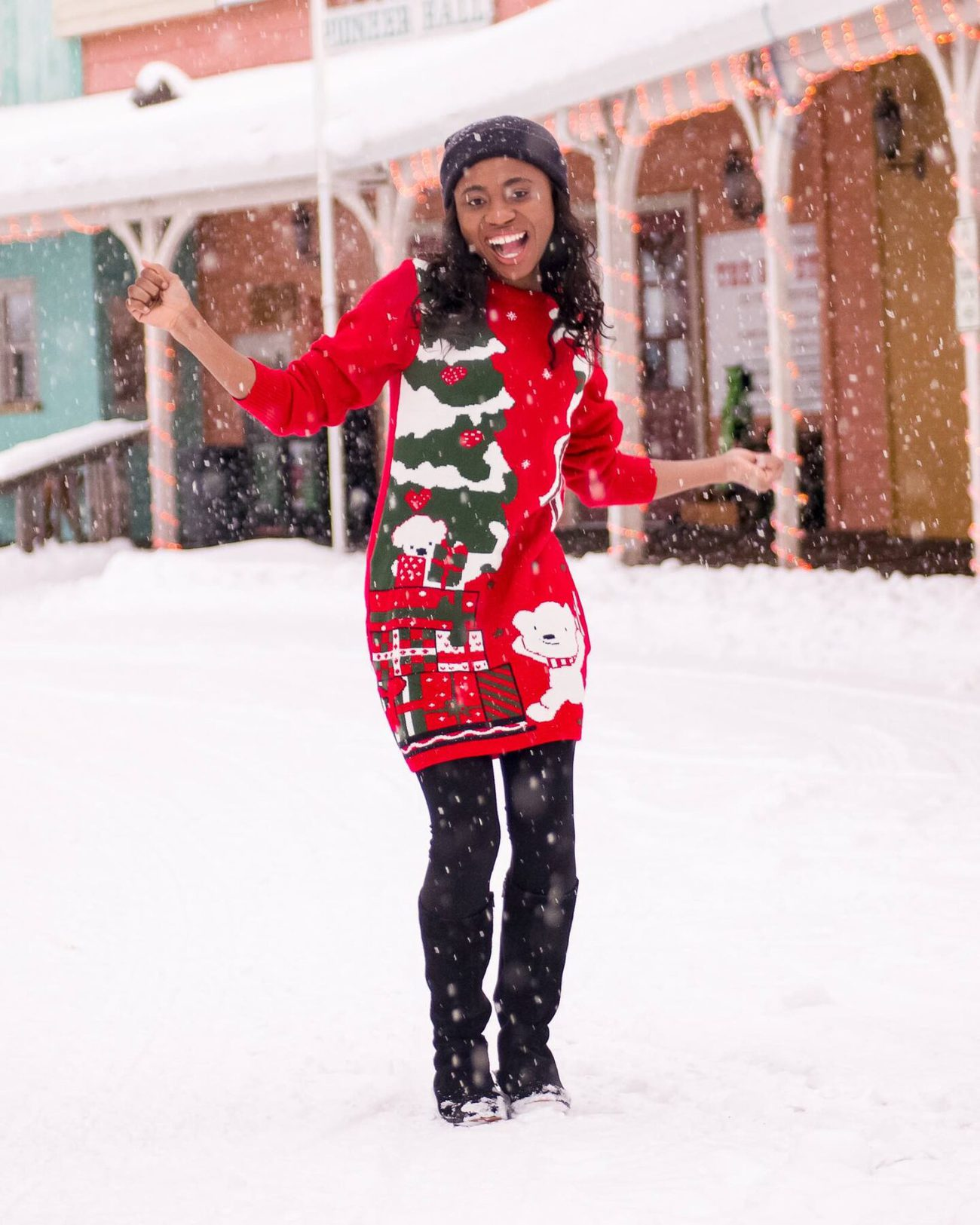 Best Ugly Christmas Sweater Dress
