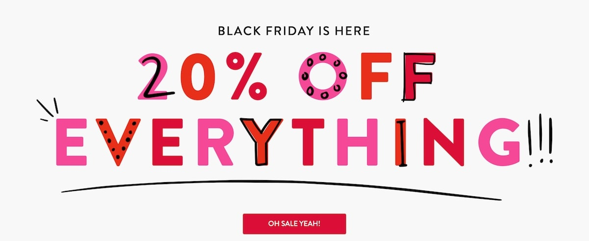 Spanx Black Friday Sale - 20% off everything