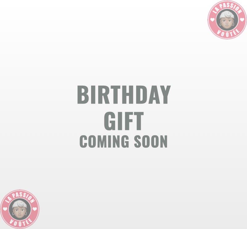 2021 Ulta Birthday Gift by Month