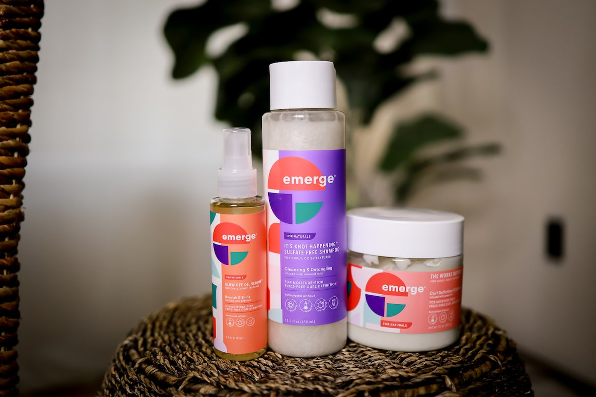 emerge hair care review: Does this $7 natural hair care line REALLY work? Or it it a fad? Read on for my thoughts and experience using this product on my 4C natural hair.