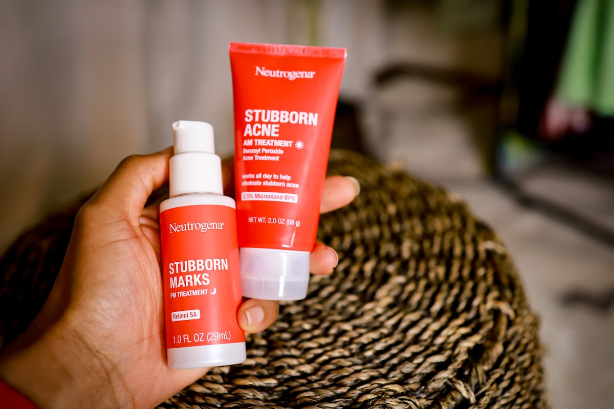 neutrogena stubborn acne and marks review