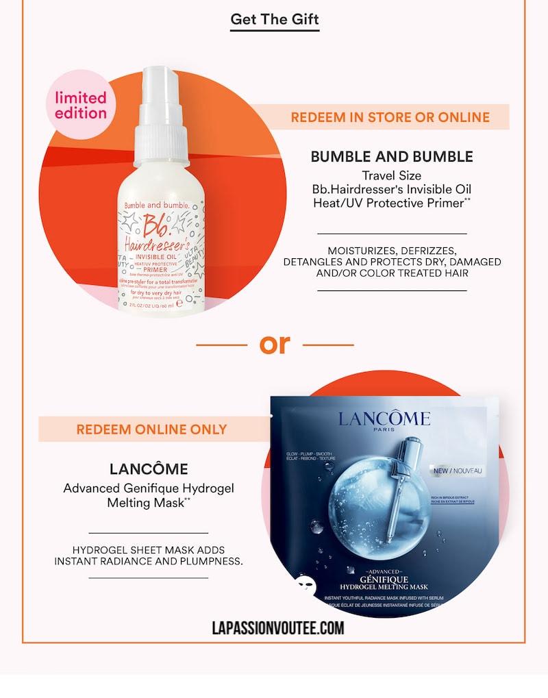 2021 Ulta June Birthday Gift - Bb. Hairdresser's Invisible Oil Heat/UV Protective Primer