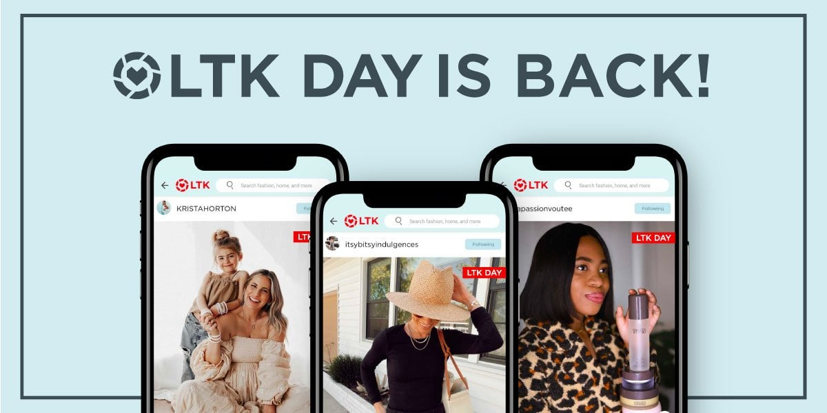 Everything you need to know about the rewardStyle LTK Day Sale. What is LTK DAY and how to Shop this sale, promo codes, exclusions, and more!